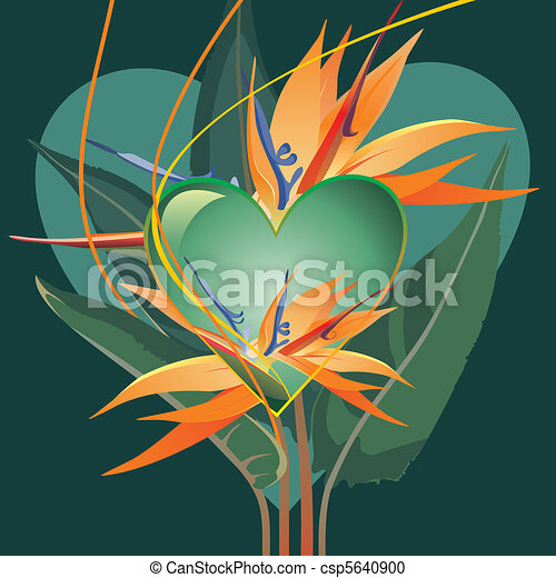 Tropic heart - csp5640900