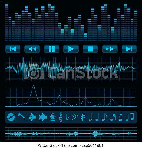 Music background. - csp5641901