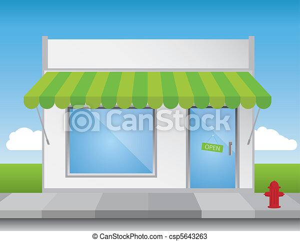 Shop Front - csp5643263