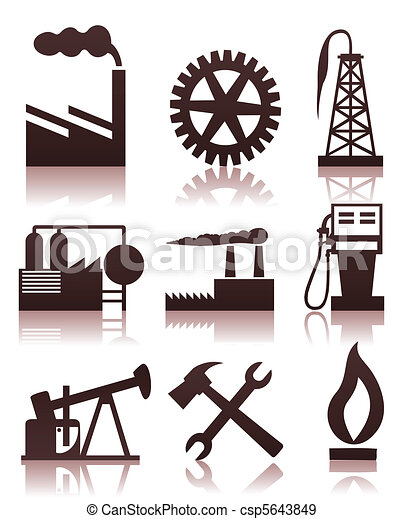 Industrial icons2 - csp5643849