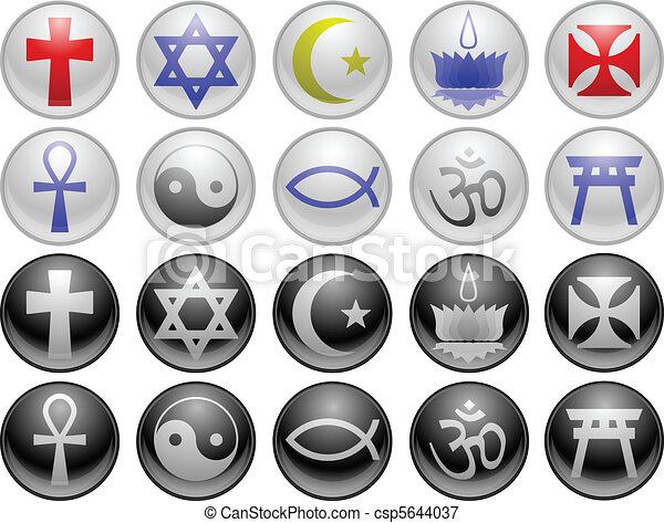 Religious icons - csp5644037