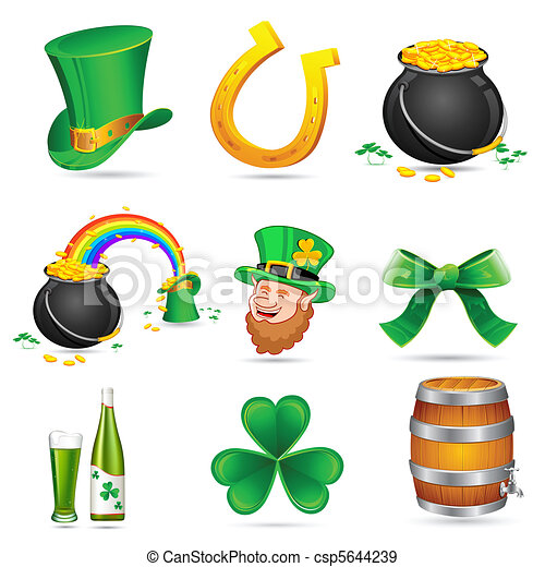 Saint Patrick's Day Elements - csp5644239