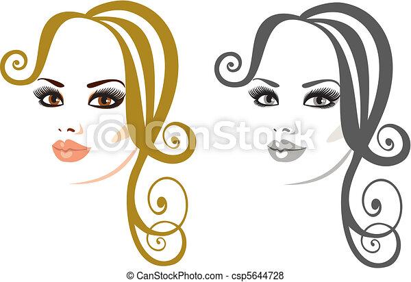 makeup and hair - csp5644728