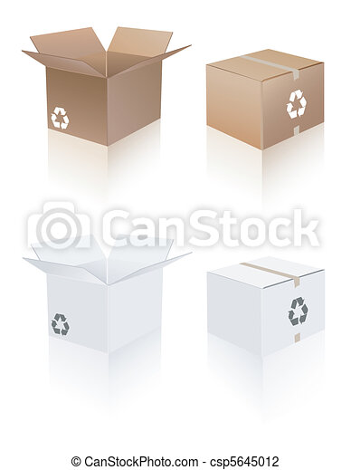 Recycle shipping box - csp5645012