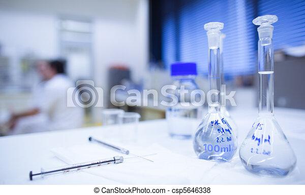 chemistry lab  - csp5646338