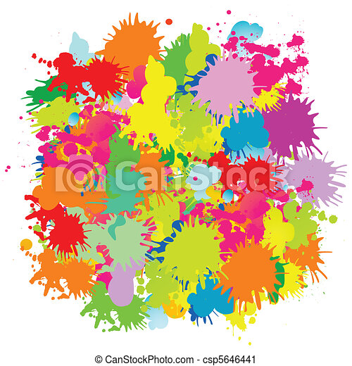Grungy design elements  - csp5646441