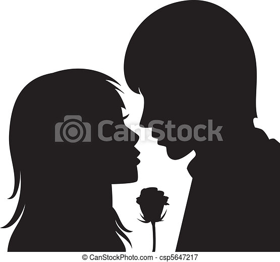 young man and woman - csp5647217