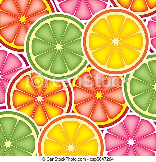 citrus background - csp5647264