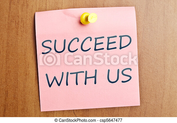 Succeed with us ad - csp5647477