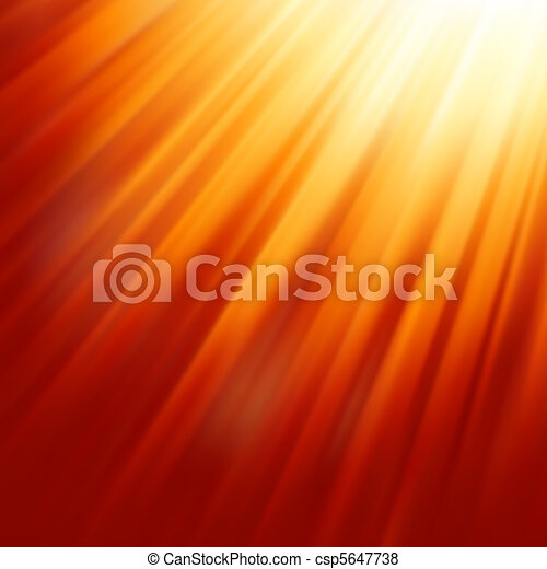 Warm sun light. EPS 8 - csp5647738