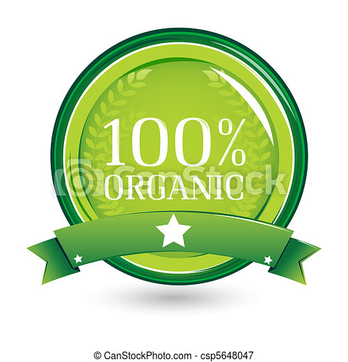 100% organic - csp5648047