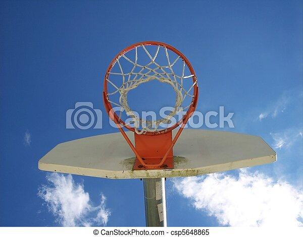 Basketball Net and Backboard Urban - csp5648865