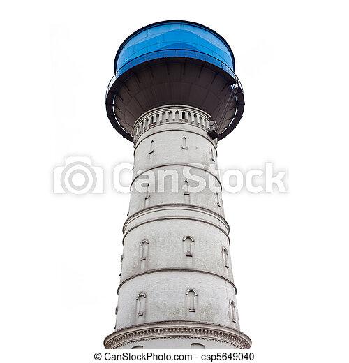 Water Reservoir Brick Tower - csp5649040