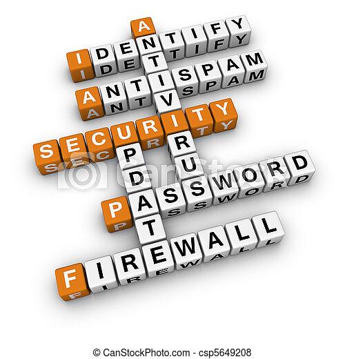 安全, 電腦 - csp5649208