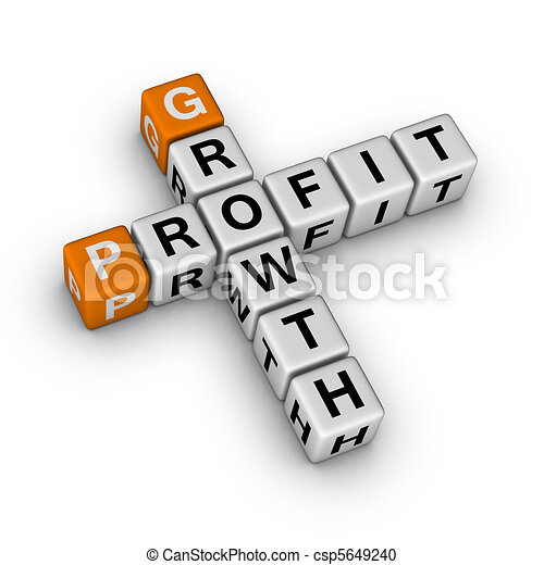 growth and profit - csp5649240