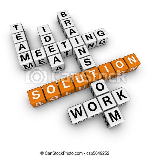 solution crossword - csp5649252