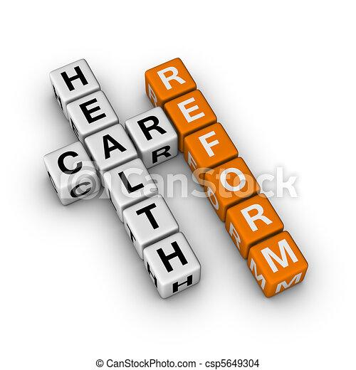 Healthcare Reform - csp5649304