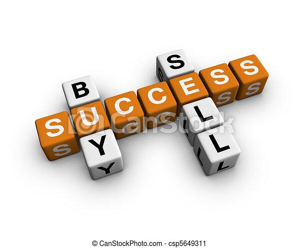 market crossword - csp5649311