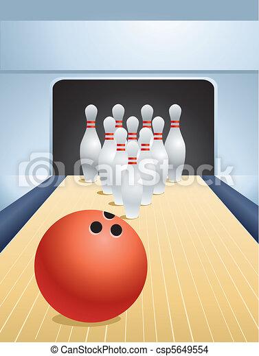 bowling - csp5649554