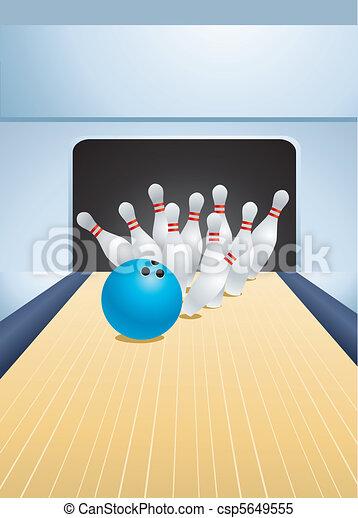 bowling - csp5649555