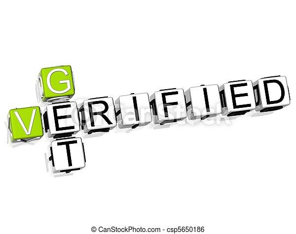 Get Verified Crossword - csp5650186