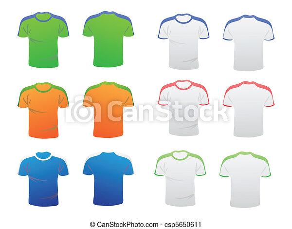 t-shirt template - csp5650611