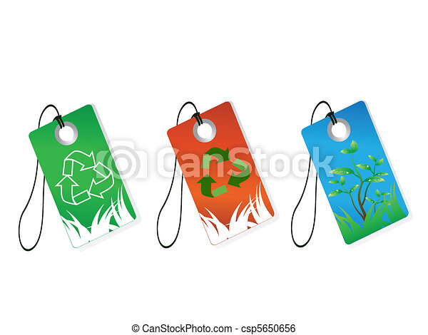 recycling tags - csp5650656