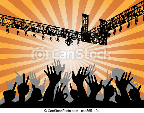 People at the concert - csp5651194