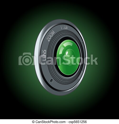 Objective of the camera - csp5651256
