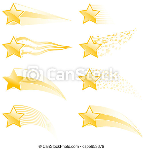 Star tracks - csp5653879