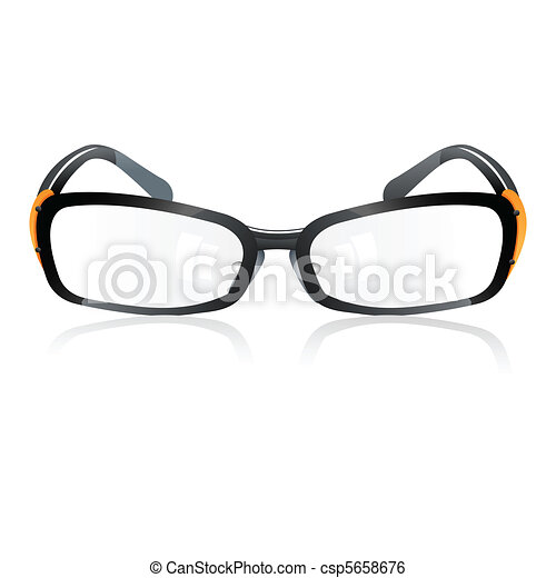 trendy eye-wear - csp5658676