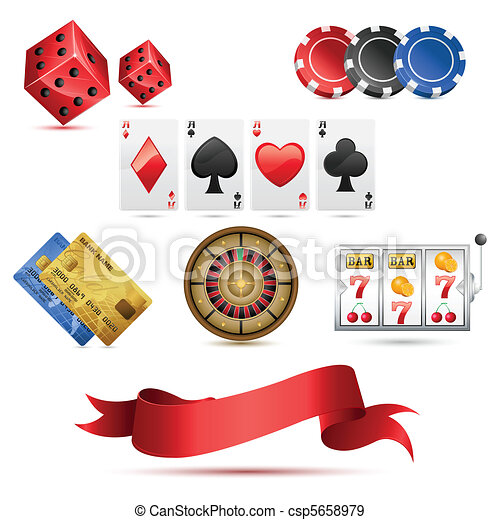 Casino Icons - csp5658979