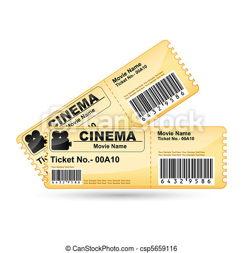 Movie Ticket - csp5659116