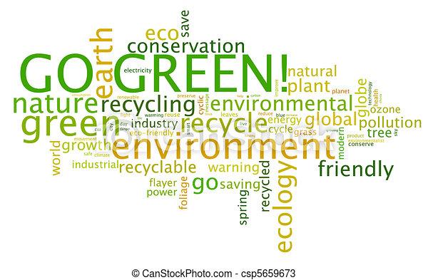 Go Green! - csp5659673