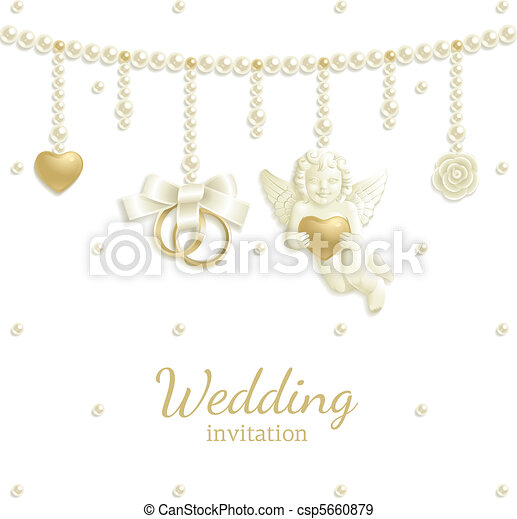 Wedding jewel background - csp5660879