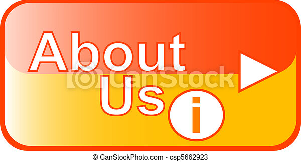 yellow Button Web icon About us - csp5662923