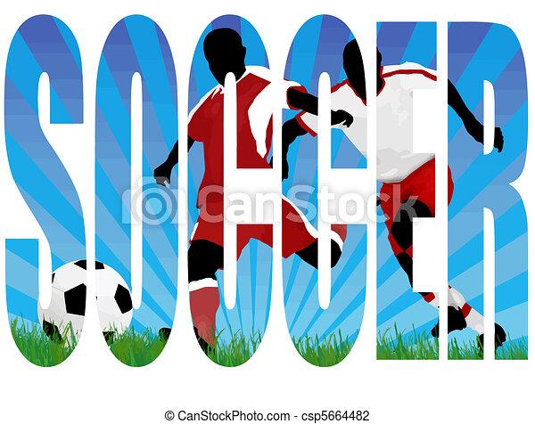 Soccer title - csp5664482