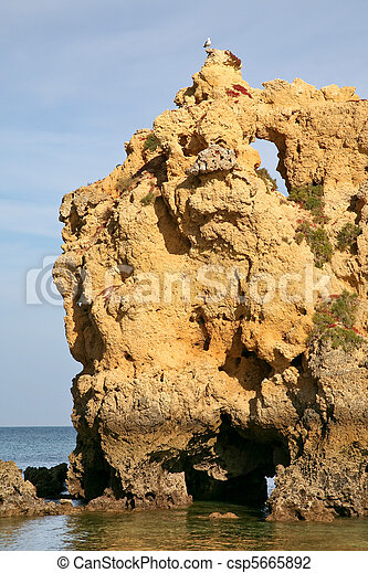 erosão, rocha - csp5665892
