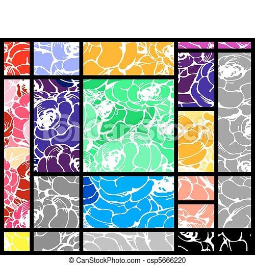 Unique rose layout - csp5666220