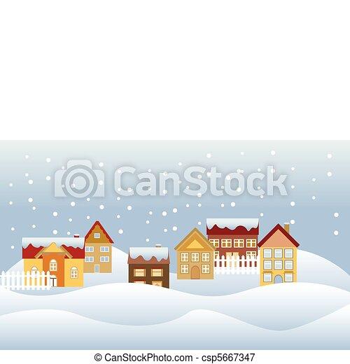 Quiet neighborhood - csp5667347
