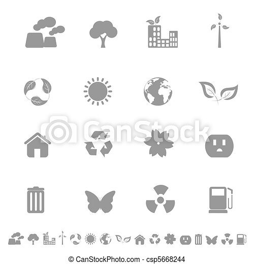 Environment and Ecology Icons - csp5668244