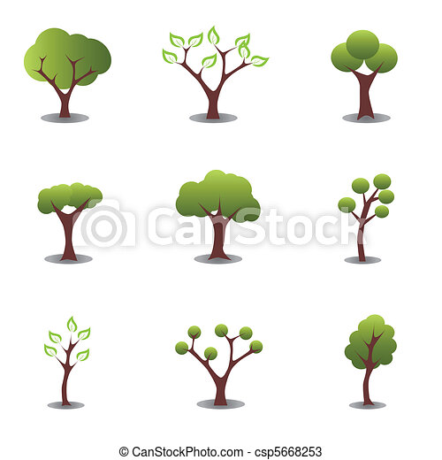 Various trees - csp5668253