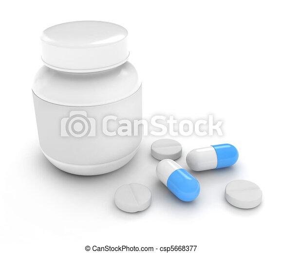 Medicine - csp5668377