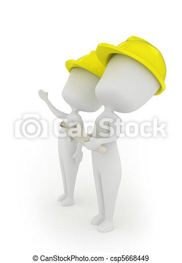 Architects - csp5668449
