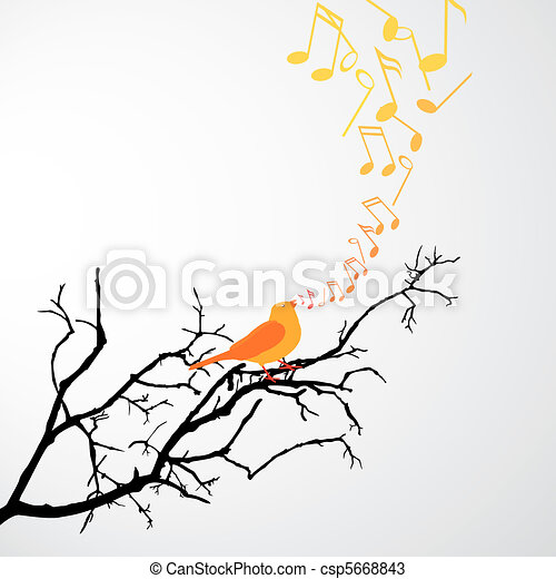 Singing Bird - csp5668843