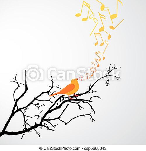 Singing Bird - csp5668843