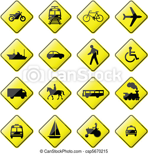 Transportation Road Sign - csp5670215