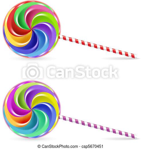 Spiral lollipop - csp5670451