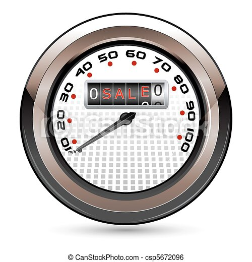 Sale Speedometer - csp5672096