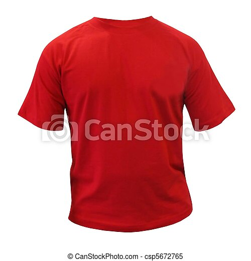 red sport t-shirt - csp5672765